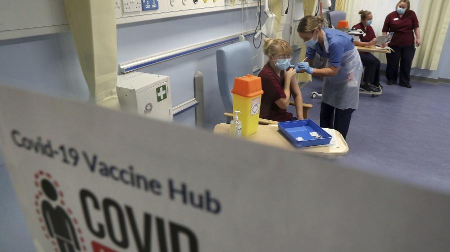 Očkovanie v Británii.