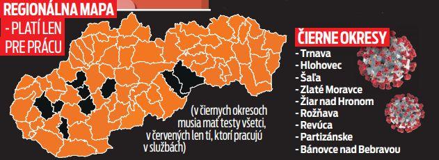 Regionálna mapa - platí