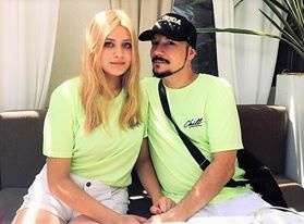 Bohuš Matuš s partnerkou
