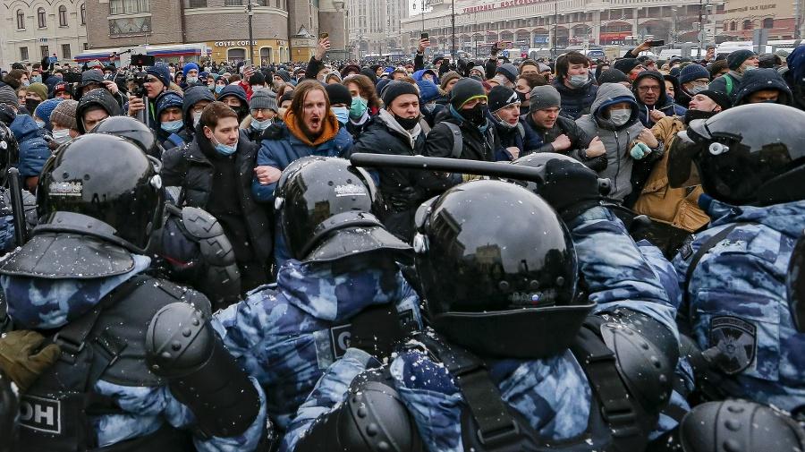Len v Moskve bolo
