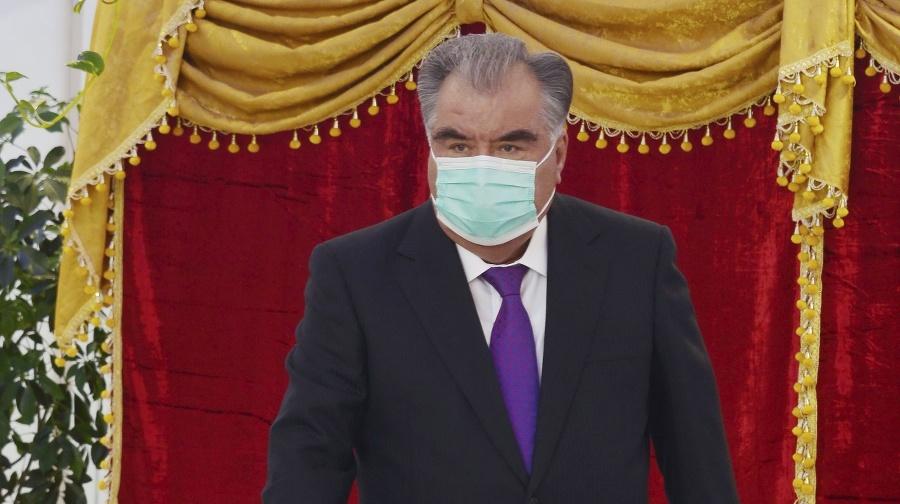 Tadžický prezident Emomali Rachmon