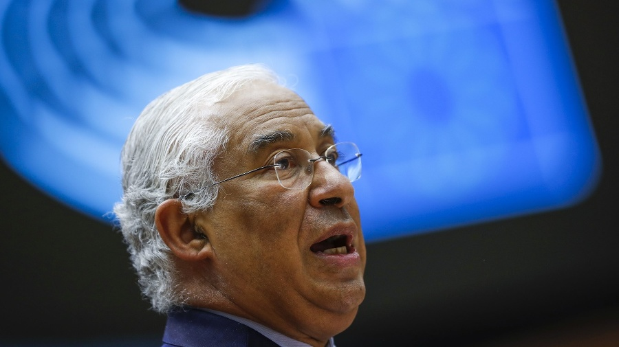 Portugalský premiér António Costa