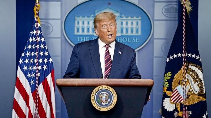 Úradujúci prezident Donald Trump