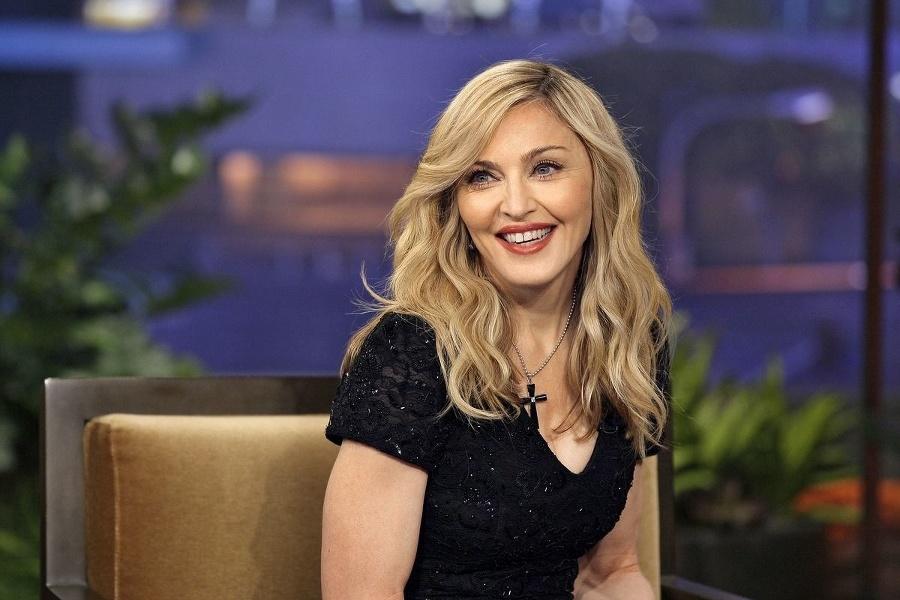 Prvýkrát sa Madonna nechala