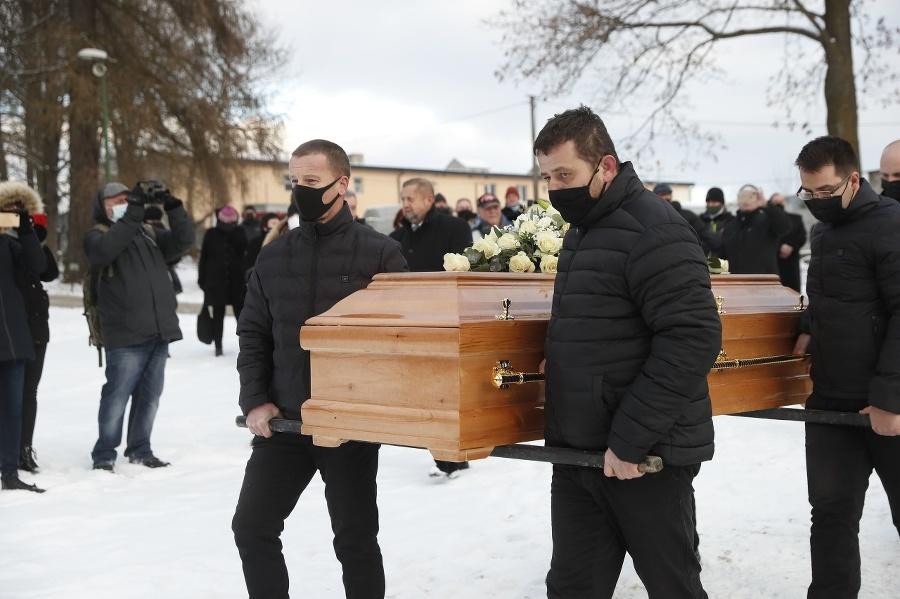 Pohreb Milana Lučanského (†