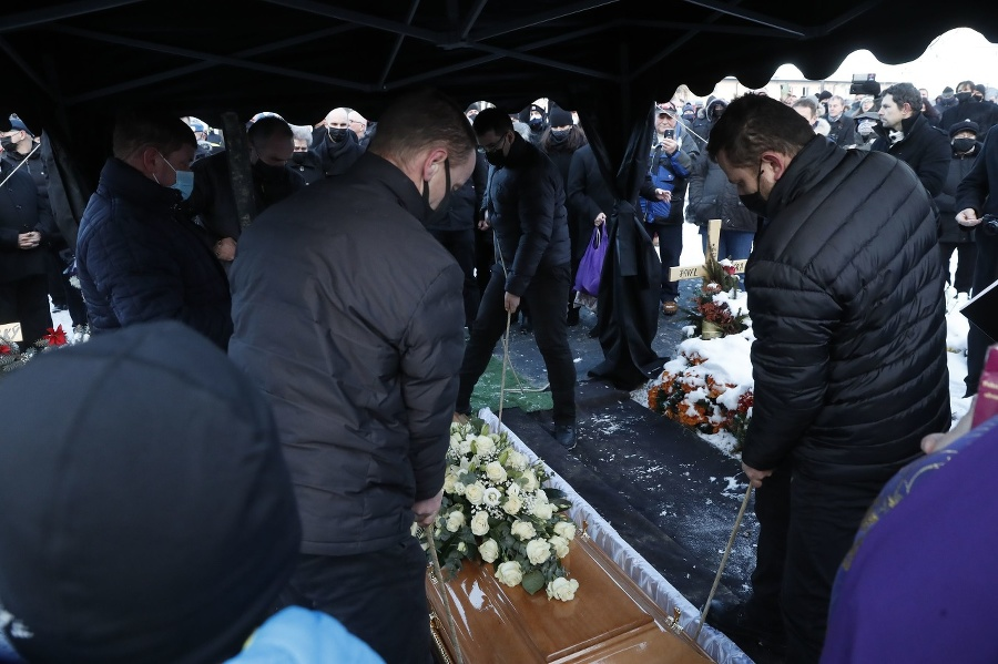Rodina odprevadila Milana Lučanského