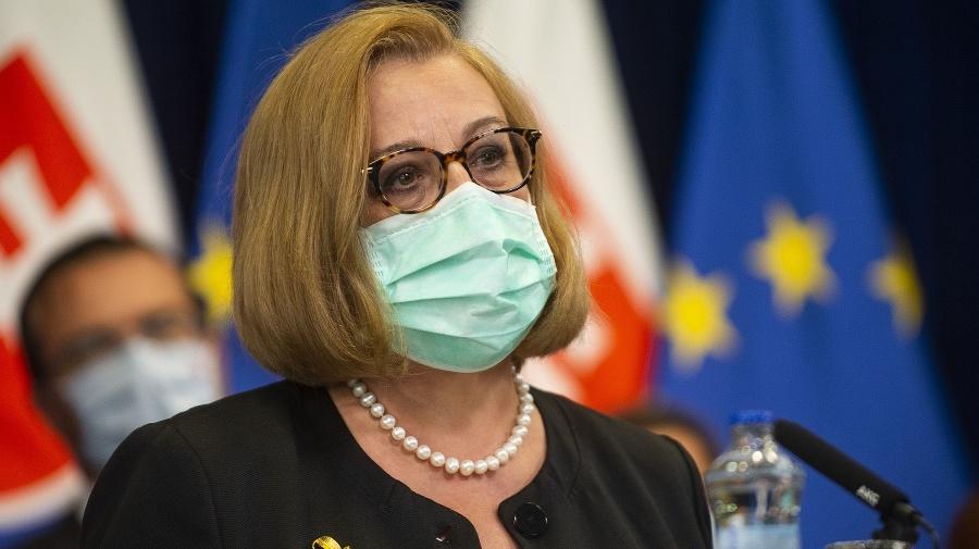 Epidemiologička Zuzana Krištúfková.