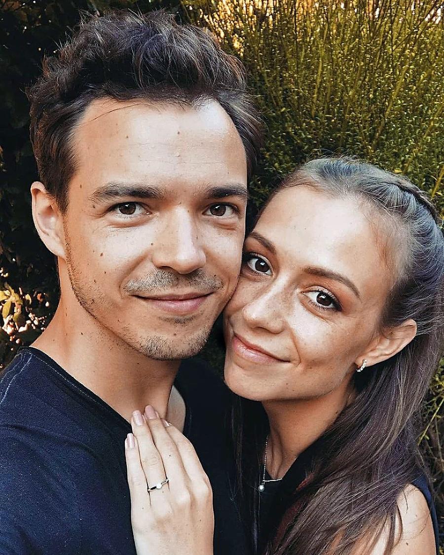 S partnerkou Martinou sa