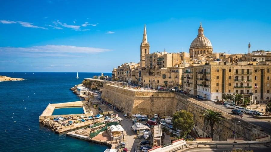 Pohľad na Vallettu, hlavné