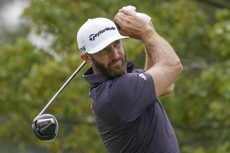Americký golfista Dustin Johnson