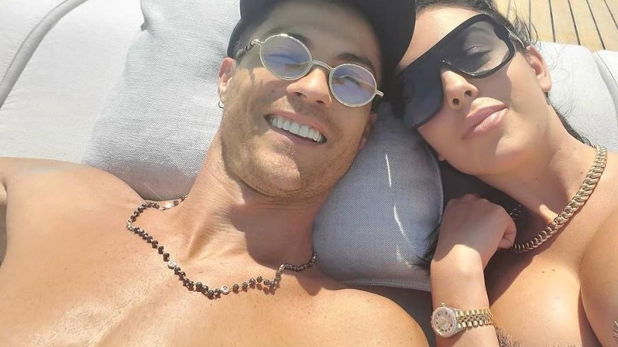 Georgina a Ronaldo často