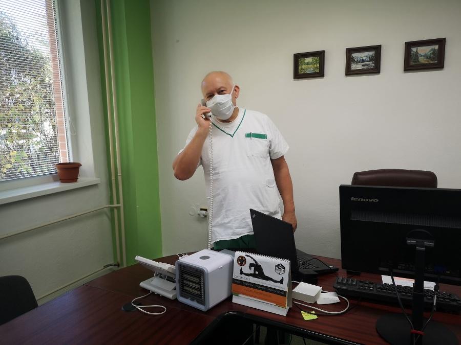 Riaditeľ nemocnice Gabriel Krbúšik.