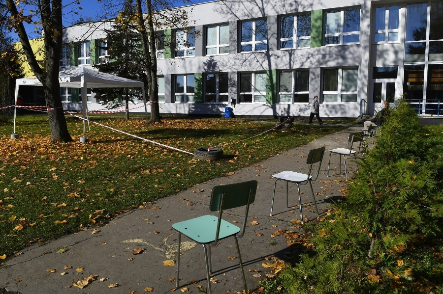 Testovanie v Prešove, odberové