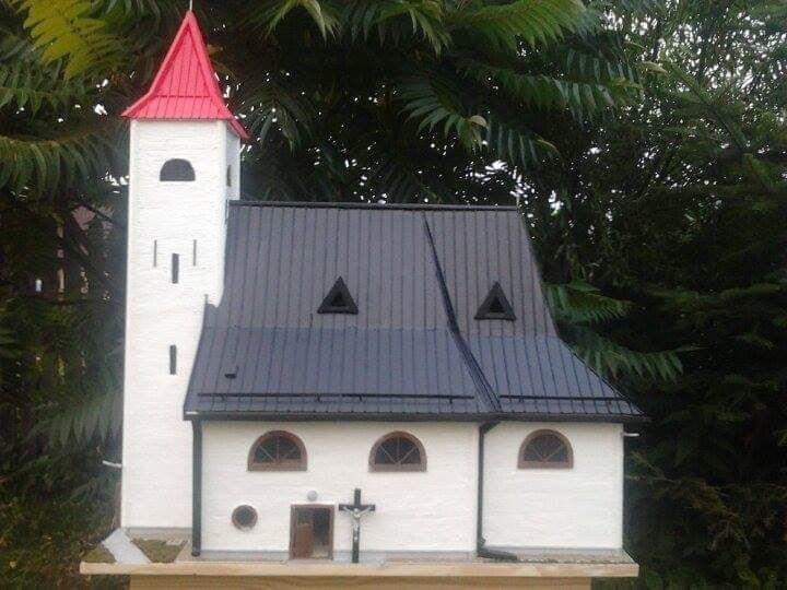 Maketa kostola v Brezovičke.