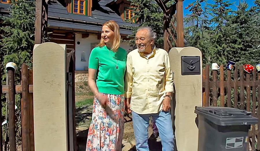 S manželkou Ivanou na