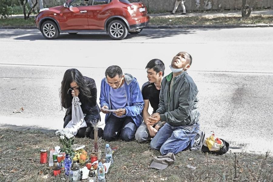 Zármutok smútiacej rodiny sa