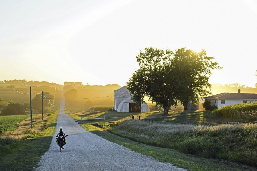 Západy slnka v Iowe,