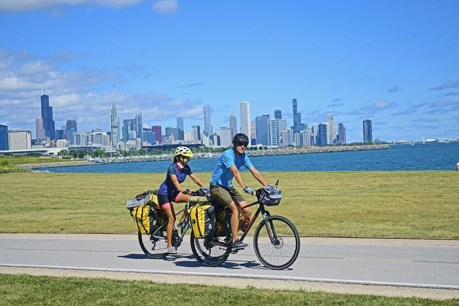 Cyklotrasa v meste