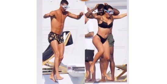 Ronaldo s Georginou na