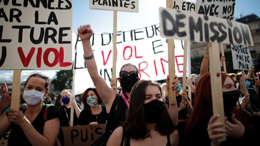 Protestujúce feministky, ktorým sa