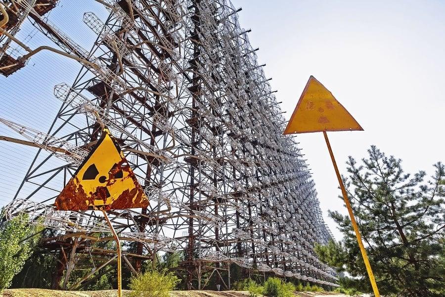 Anténa radaru Duga: Bol