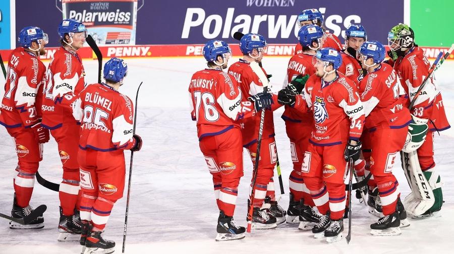 Hokejisti Česka sa tešia