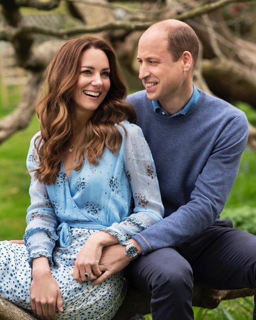 Kate a William na