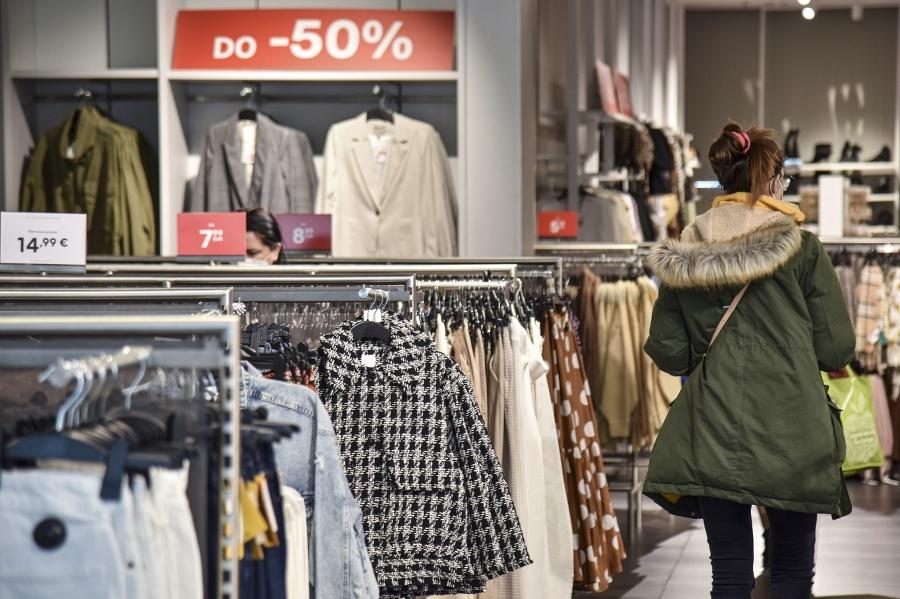 Otvorené nákupné centrum v