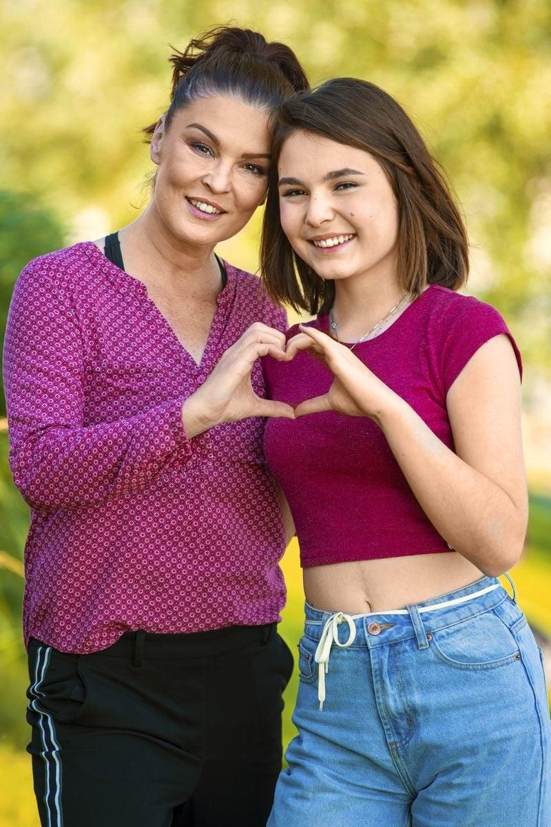 S dcérou Radkou má