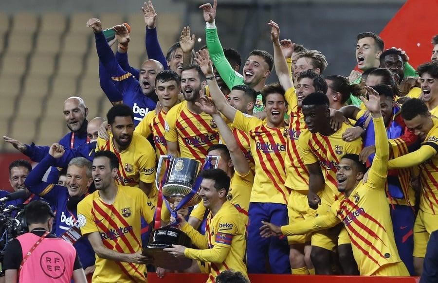 Futbalisti FC Barcelona sa