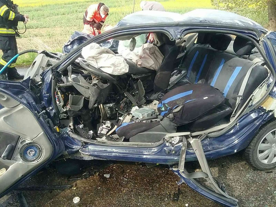 Auto bolo po nehoda