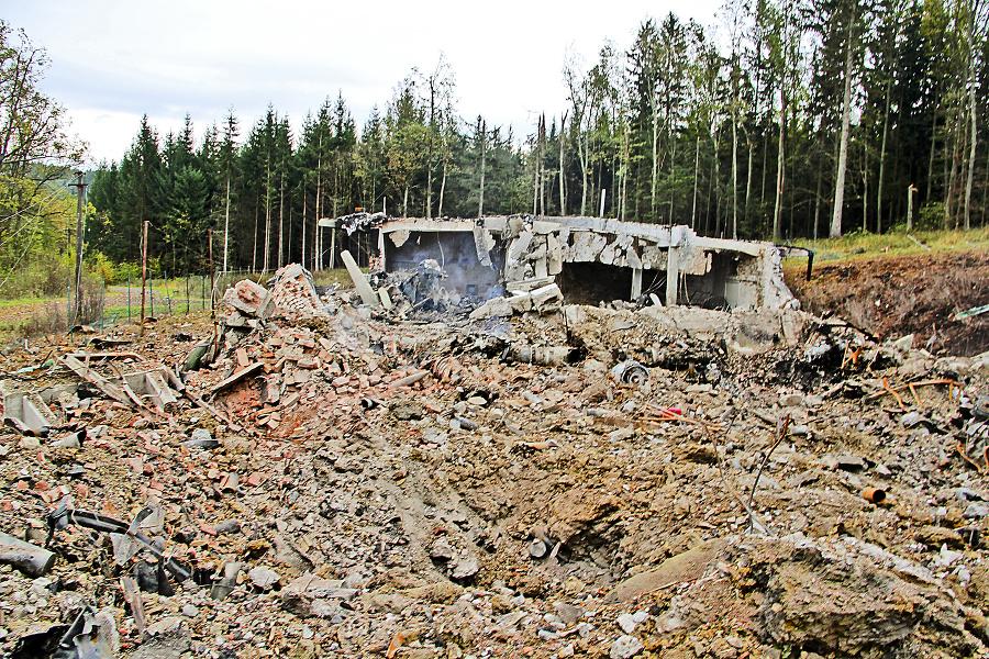 K výbuchom vo Vrběticiach došlo v roku 2014.