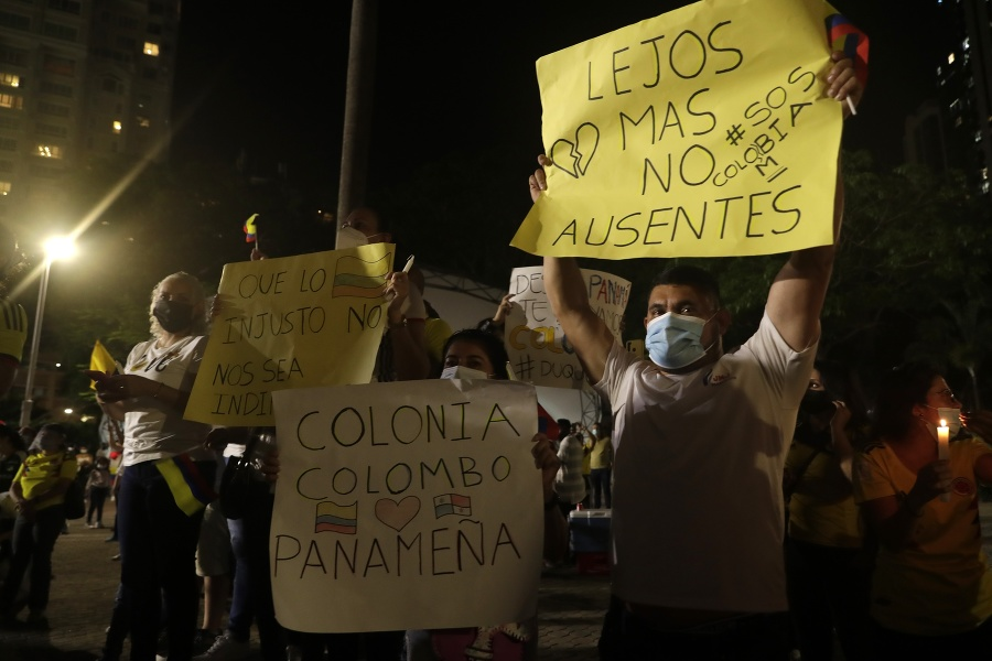 Kolumbijčania protestujú proti navrhovaným
