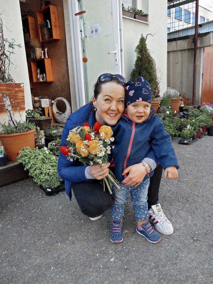 Lara (2) a mamička Simona (28), Prešov