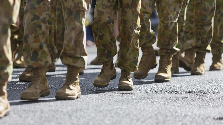 Vojaci podporujúci opozíciu sa