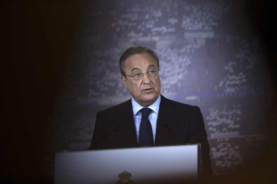 Prezident Realu Madrid Florentino