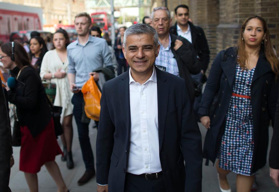 Londýnsky starosta Sadiq Khan.