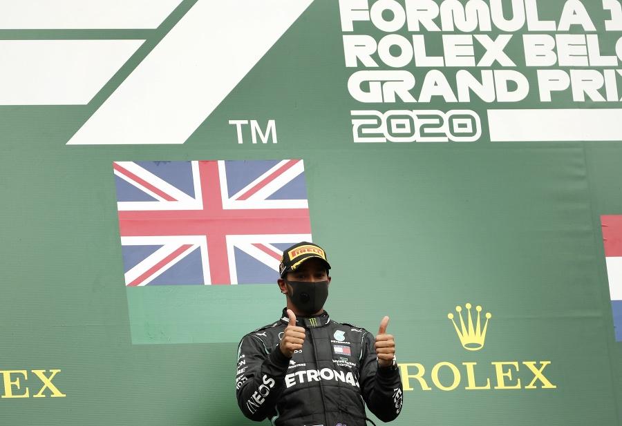 Britský pilot F1 Lewis