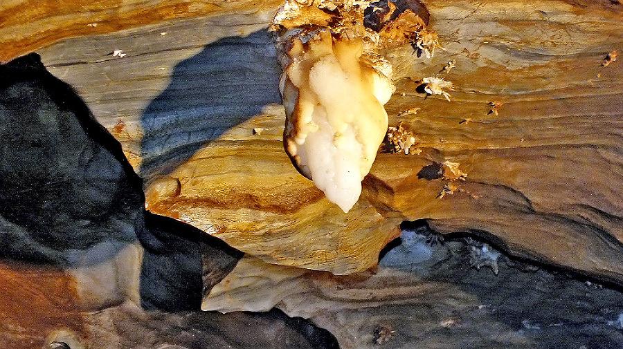 Symbolom jaskyne je Srdce Hrádku.