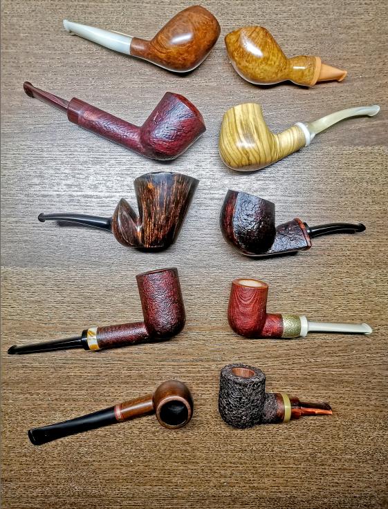 Každá fajka je výnimočným kúskom.