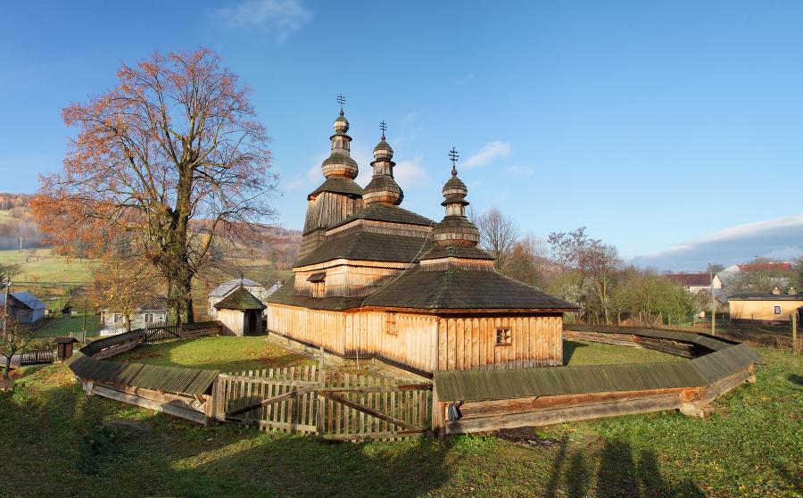 Gréckokatolícky drevený chrám sv. Mikuláša sa nachádza v obci Bodružal v okrese Svidník.