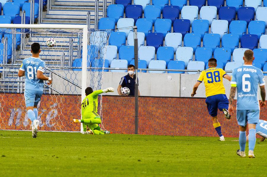 Futbalový Slovan stále zisk
