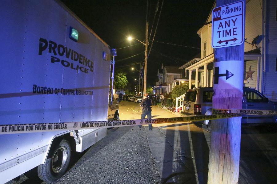 Streľba v Rhode Islande