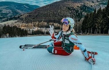 Česká lyžiarka Katerina Paulathová.
