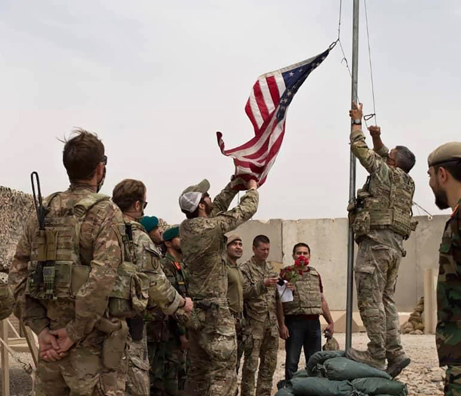 Odsun vojakov americkej