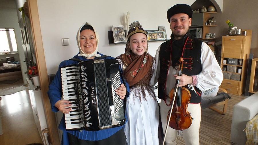 Rodina sa venuje folklóru už celé genrácie.
