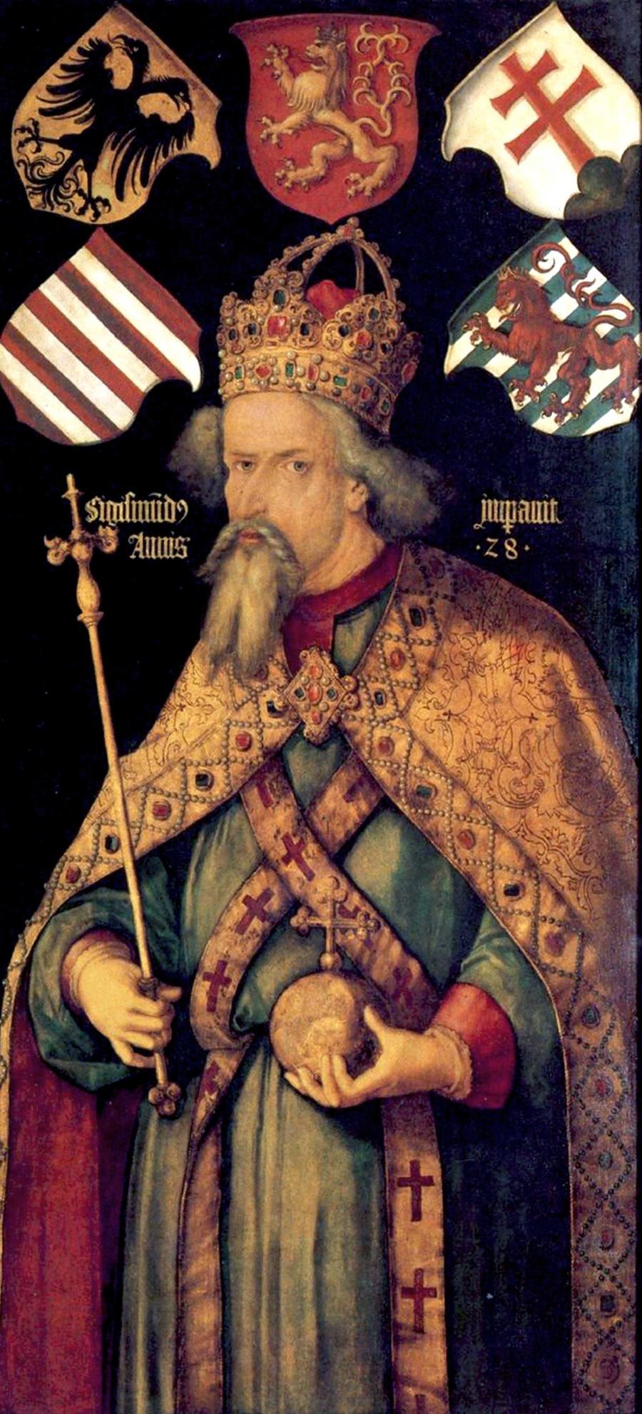 Kráľ Žigmund hrad daroval v roku 1424 kráľovnej Barbore.
