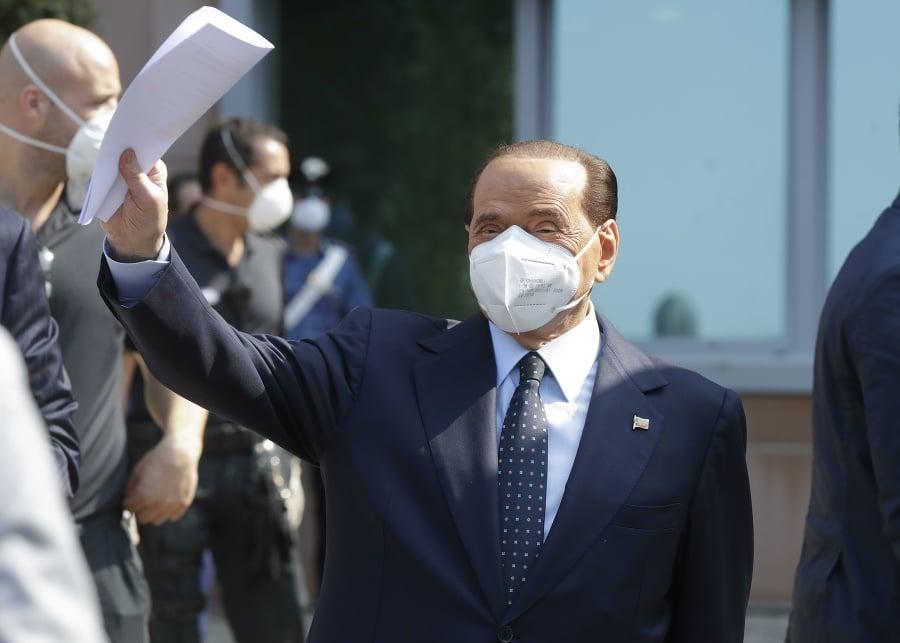 Taliansky expremiér Silvio Berlusconi.