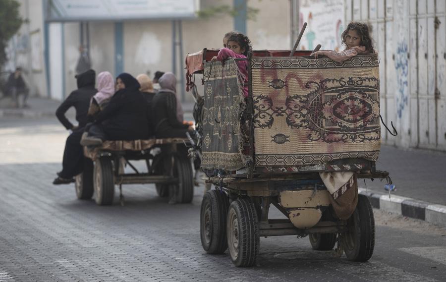Palestínčania utekajú zo svojich