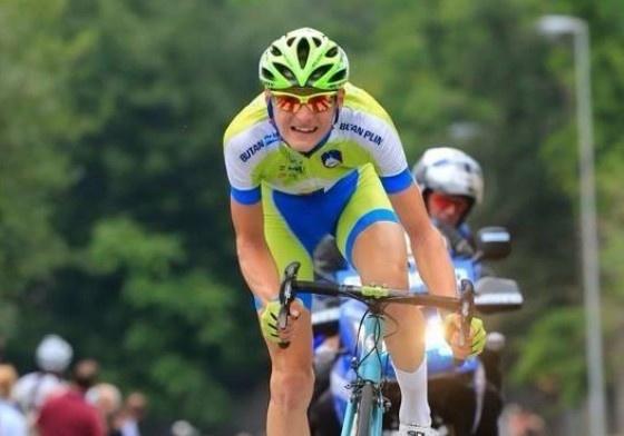 Slovinský cyklista Matej Mohorič